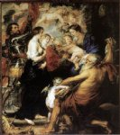 peter paul rubens our lady with the saints painting 27078