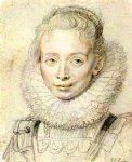 peter paul rubens portrait of a chambermaid art
