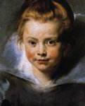 peter paul rubens portrait of a young girl painting-26883
