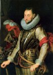 portrait of ambrogio spinola by peter paul rubens painting