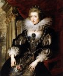 peter paul rubens portrait of anne of austria painting