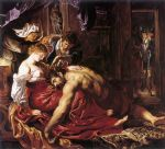 samson and delilah by peter paul rubens painting