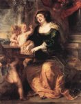 st. cecilia by peter paul rubens painting