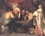 angel acrylic paintings - the four evangelists by peter paul rubens