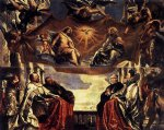 ship watercolor paintings - the gonzaga family worshipping the holy trinity by peter paul rubens