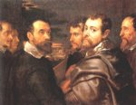 peter paul rubens the mantuan circle of friends paintings