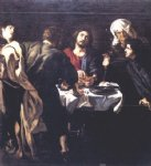 pet acrylic paintings - the supper at emmaus by peter paul rubens