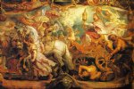 pet acrylic paintings - the triumph of the church by peter paul rubens