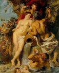 pet acrylic paintings - the union of earth and water by peter paul rubens