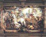 peter paul rubens triumph of church over fury discord and hate painting