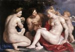 peter paul rubens venus cupid baccchus and ceres painting