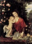peter paul rubens virgin and child painting