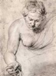peter paul rubens woman painting