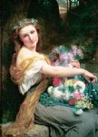 pierre auguste cot dionysia i by pierre-auguste cot painting