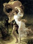pierre auguste cot the storm by pierre-auguste cot painting