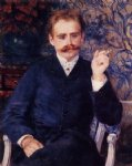 albert cahen d anvers by pierre auguste renoir painting