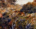 algerian landscape by pierre auguste renoir paintings