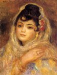 algerian woman ii by pierre auguste renoir paintings