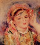 algerian woman by pierre auguste renoir paintings