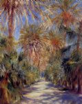 algiers the garden of essai by pierre auguste renoir painting