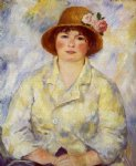 aline charigot future madame renoir by pierre auguste renoir paintings