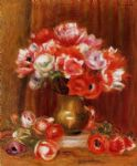 anemones 3 by pierre auguste renoir paintings