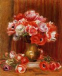 anemones by pierre auguste renoir paintings