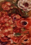 anemonies by pierre auguste renoir paintings