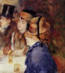 at the cafe ii by pierre auguste renoir original paintings