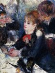 at the milliner s by pierre auguste renoir painting