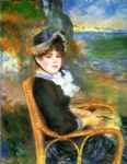 au bord de la mer by pierre auguste renoir paintings