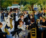 ball at the moulin de la galette by pierre auguste renoir original paintings