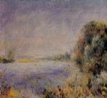 banks of the river iii by pierre auguste renoir painting