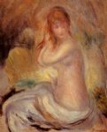 bather iii by pierre auguste renoir painting