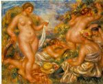 bathers iii by pierre auguste renoir original paintings
