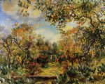 beaulieu landscape by pierre auguste renoir paintings