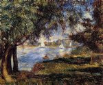 bougival by pierre auguste renoir paintings