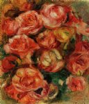 pierre auguste renoir bouquet of flowers iii painting