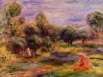 cagnes landscape iii by pierre auguste renoir painting