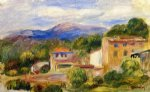 cagnes landscape v by pierre auguste renoir paintings