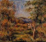 cagnes landscape vi by pierre auguste renoir paintings