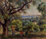 cagnes landscape xi by pierre auguste renoir paintings
