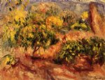 cagnes landscape xii by pierre auguste renoir paintings