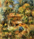 cagnes landscape xiii by pierre auguste renoir painting