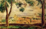 cagnes by pierre auguste renoir painting