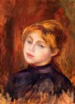 catulle mendez by pierre auguste renoir painting