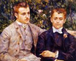 charles and georges durand by pierre auguste renoir painting