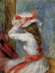 child s head by pierre auguste renoir painting