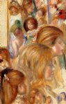 children art - children s heads by pierre auguste renoir