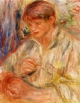 claude renoir potting by pierre auguste renoir paintings